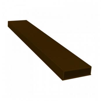 Импост для москитной сетки 6 м коричневый