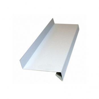 Водоотлив оконный белый (толщина листа 0,4 мм), м2