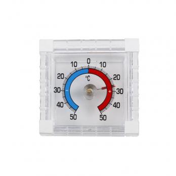 Термометр оконный Биметалический квадрат