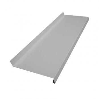 Водоотлив оконный сигнальный серый RAL 7004  (толщина листа 0,45 мм), м2