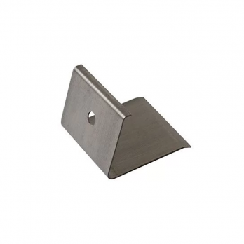 Скоба под подоконник ПВХ металлическая