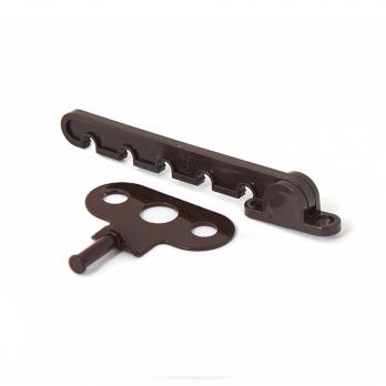Гребенка-ограничитель коричневая